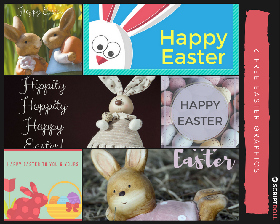 6 Free Easter Graphics for You to Use (yes, even commercially)
