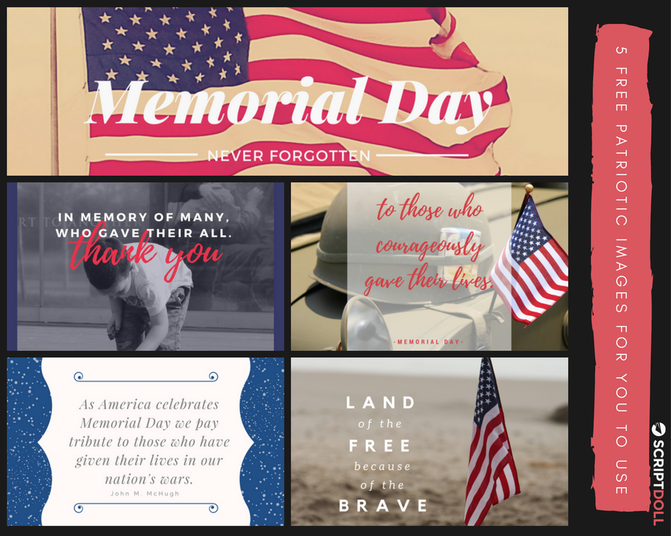 5 Free Memorial Day Images for You to Use