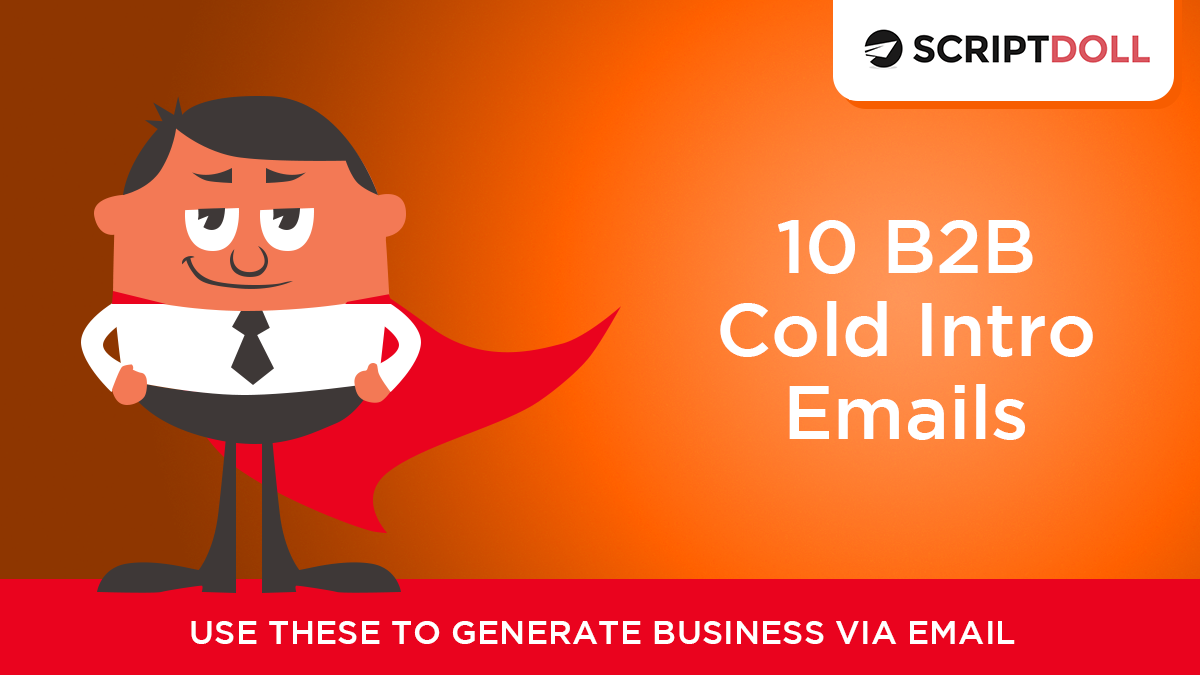 10 B2B Cold Intro Email Templates