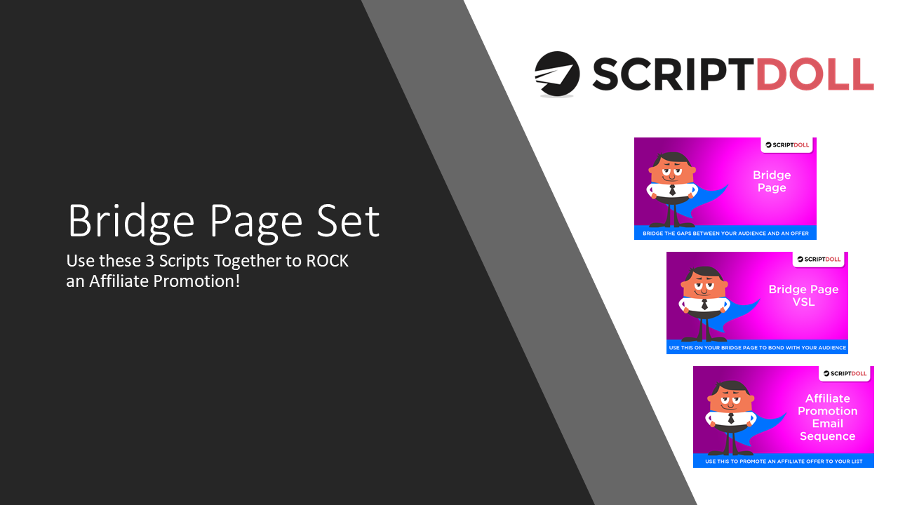 ScriptDoll Bridge Page Template Set
